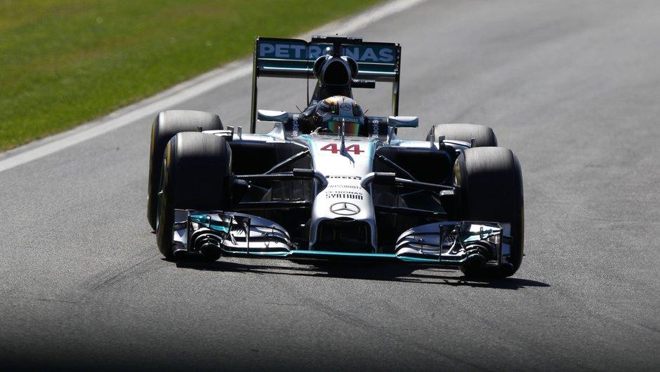 F1 - Essais 2 GP Allemagne 2014 : Hamilton réplique à Rosberg, Ricciardo très proche