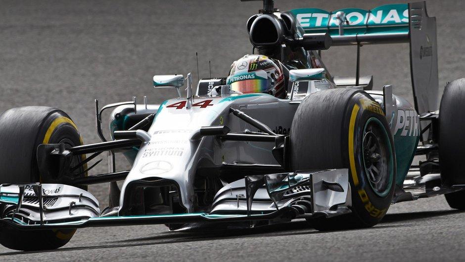 F1 - Essais 1 GP Italie 2014 : Lewis Hamilton loin devant à Monza