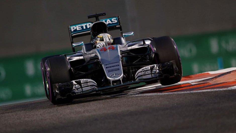 F1 - GP d'Abu Dhabi 2016 : trop fort pour Rosberg, Hamilton s'empare de la pole