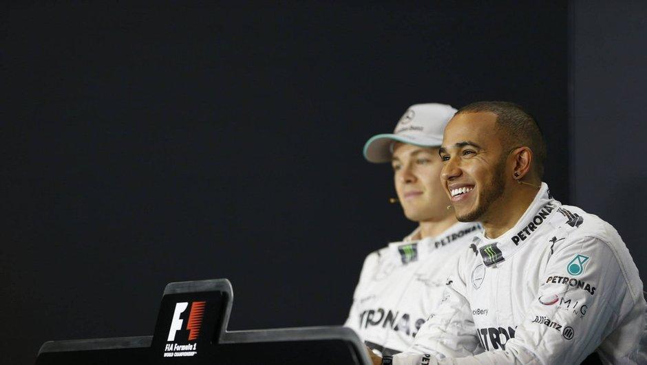 F1 - GP Italie 2014 : Hamilton et Rosberg ont tout fait pour s'éviter