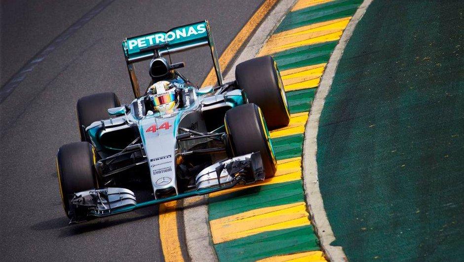 F1 - GP Australie 2015 : Hamilton intouchable, Vettel (déjà) sur le podium
