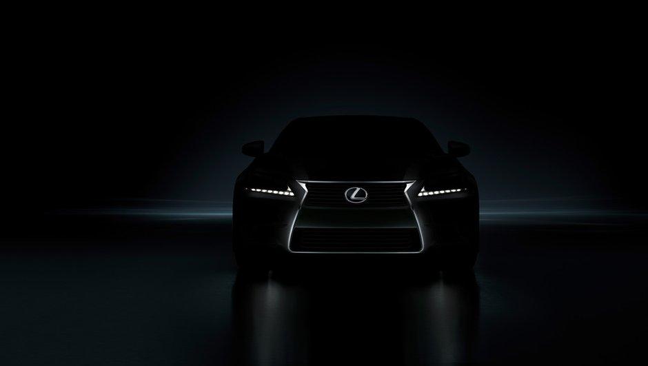 Nouvelle Lexus GS 2012 : première photo d'une gueule d'enfer