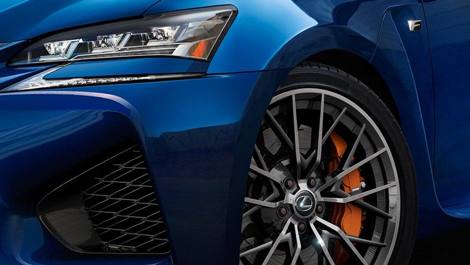 Lexus GS-F 2015 : premières images teaser