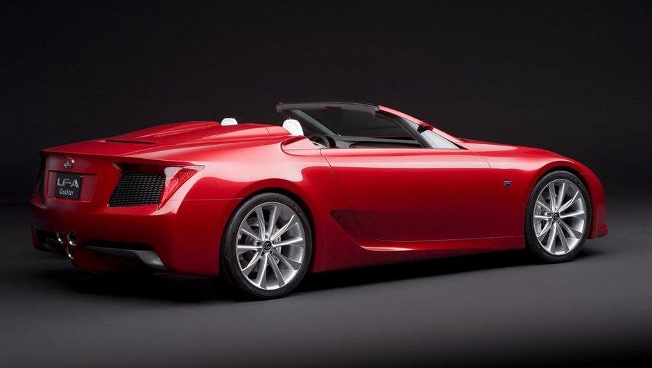 Rumeur : une Lexus LFA Roadster en 2014 ?