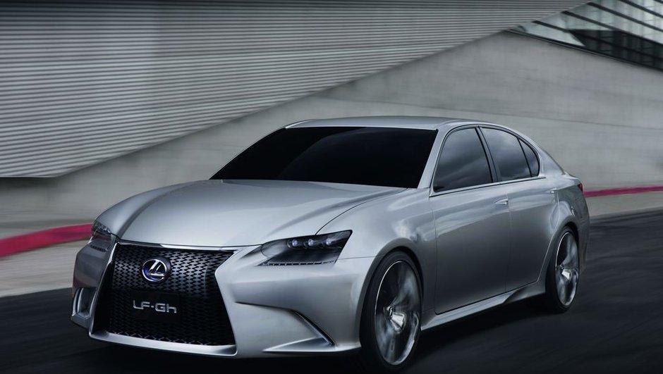 Salon de New York 2011 : Lexus LF-Gh Concept, future GS hybride