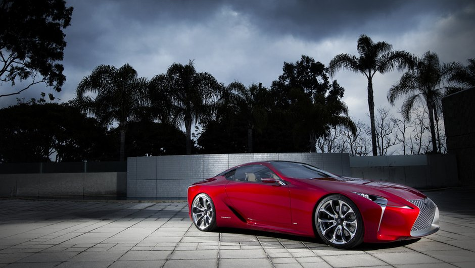 Salon de Détroit 2012 : le concept Lexus LF-LC prédit l'avenir