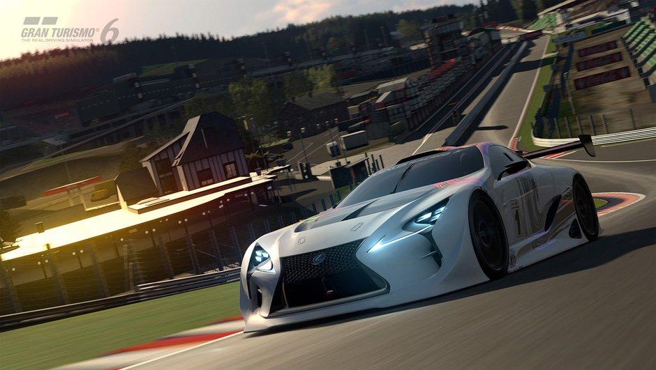 Lexus LF-LC GT Vision Concept : une sportive futuriste pour Gran Turismo 6