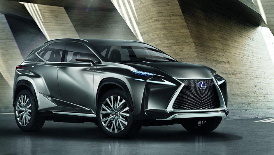 Lexus LF-NX Concept 2013 : un crossover compact torturé