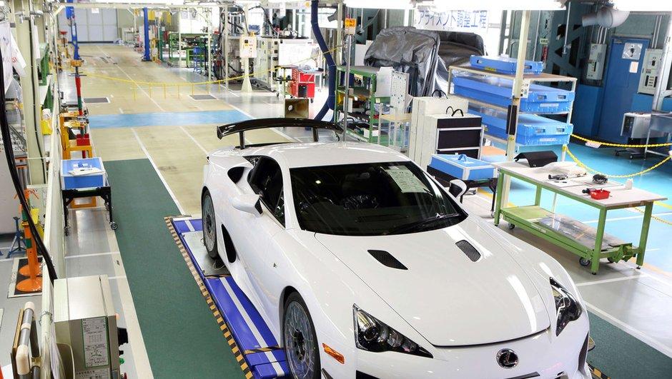 Lexus LFA : la dernière et 500ème unité produite