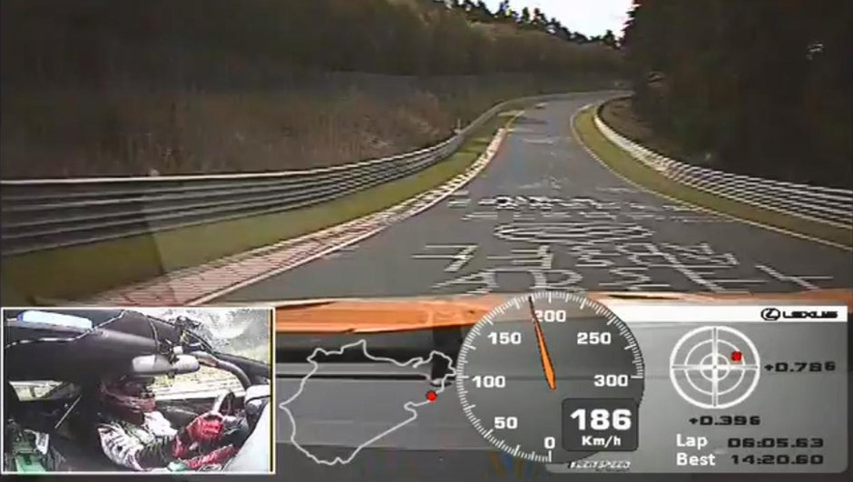 Vidéo : la Lexus LFA sur le Nürburgring !