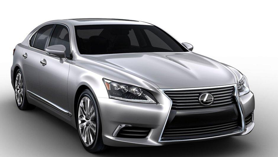 Lexus LS 2012 : nouvelles photos du restylage