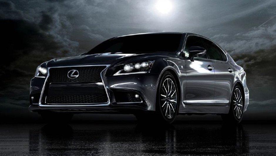 Mondial de l'Auto 2012 : Lexus LS restylée, première photo