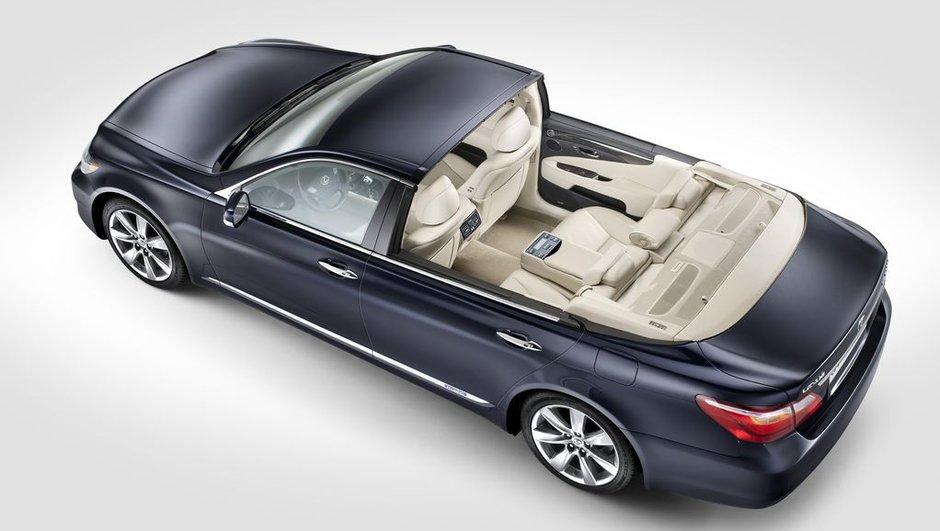 Lexus LS 600h Landaulet : la voiture du mariage d'Albert de Monaco