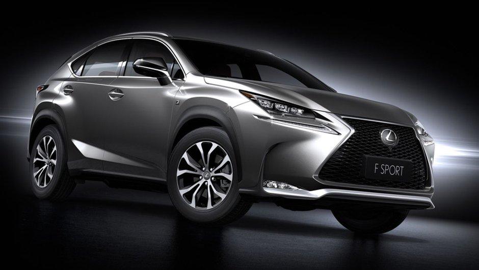 Lexus NX 2014 : le crossover nippon s'expose avant le Salon de Pékin