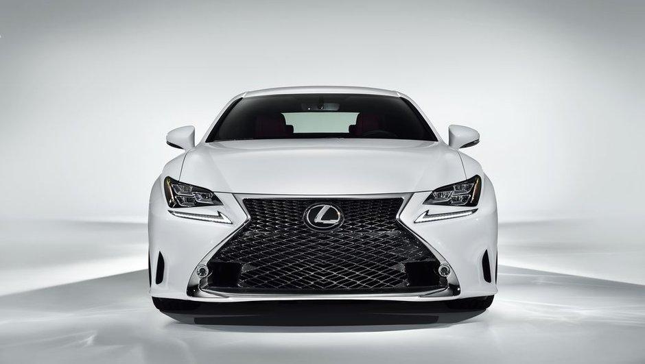 Salon de Genève 2014 : Lexus dévoile la RC F Sport