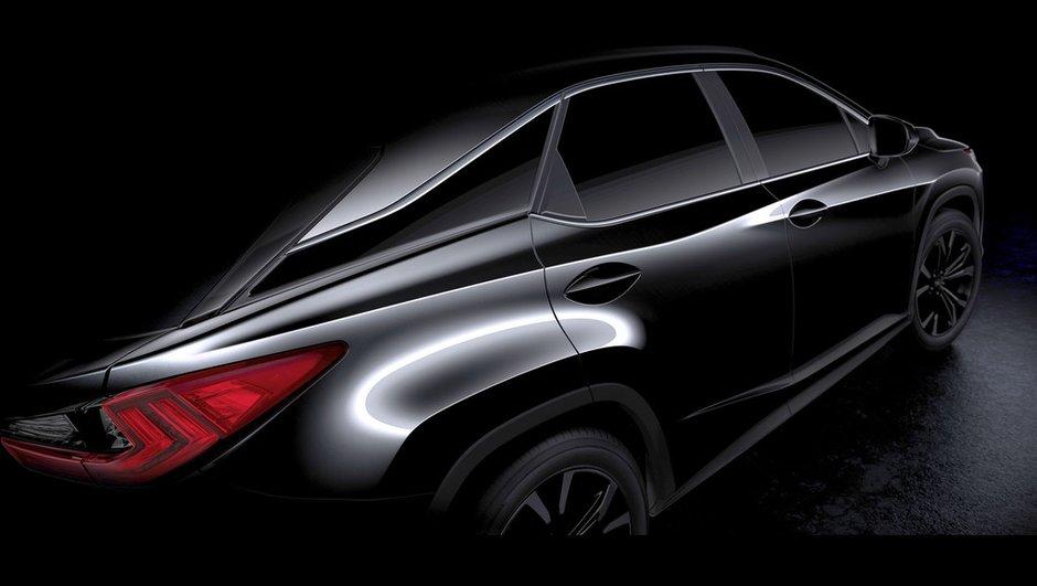 Futur Lexus RX 2015 : Première vidéo avant le Salon de New York
