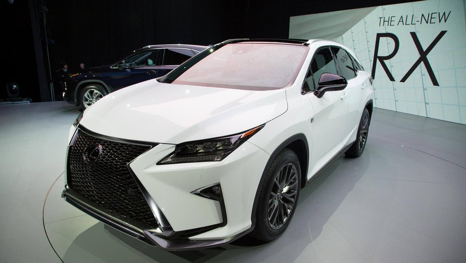 Salon de New York 2015 : Lexus RX puissance 4