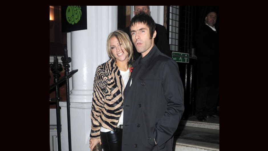 Nicole Appleton au top avec son chéri Liam Gallagher