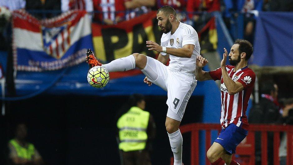 L'Atlético Madrid et le Real Madrid dos à dos dans le derby