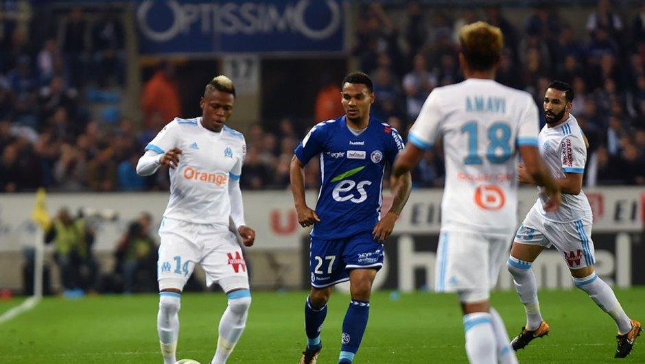Marseille ne ramène qu'un point de Strasbourg