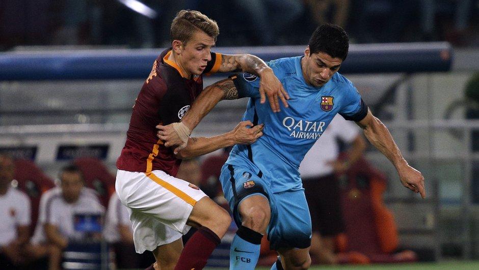 LDC-Gr. E : La Roma tient tête au Barça