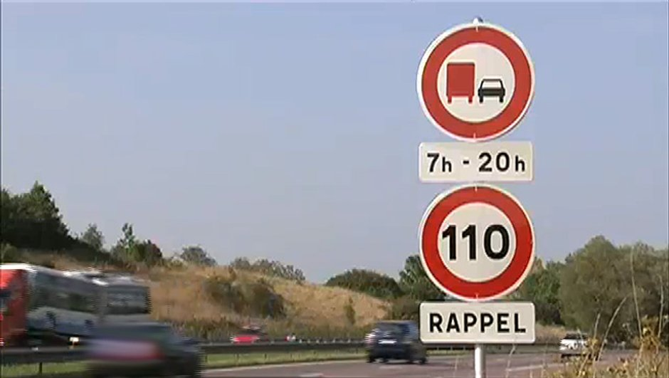 Autoroute limitée à 110km/h : Premier bilan