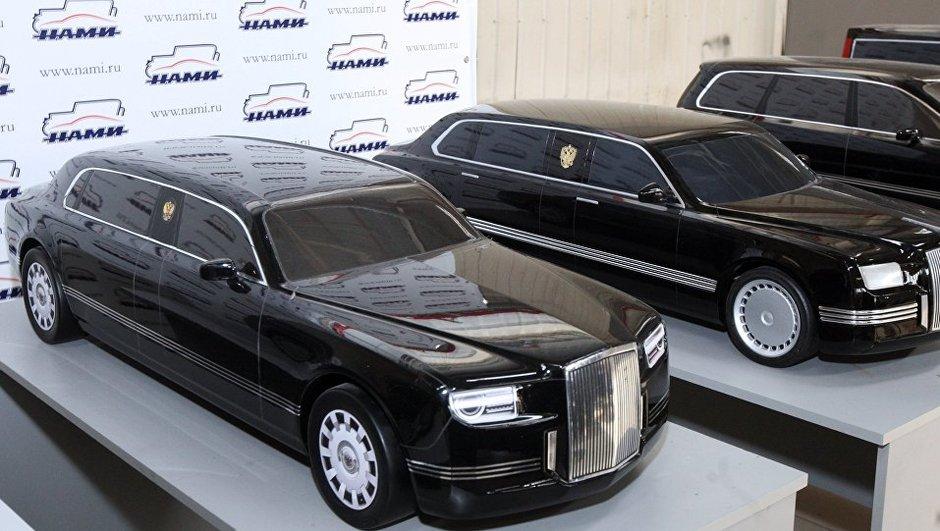 Vladimir Poutine dévoile sa future  limousine