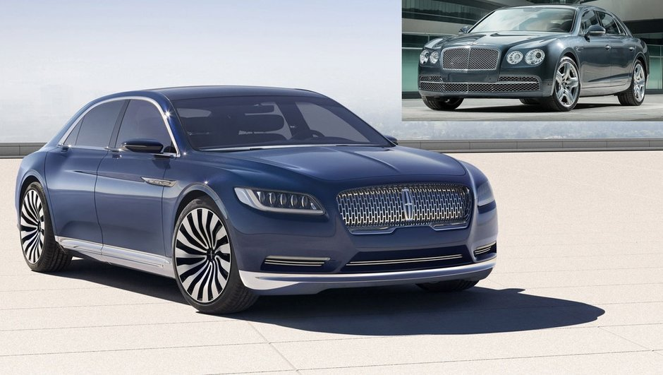 Insolite : quand le designer de Bentley tacle Lincoln