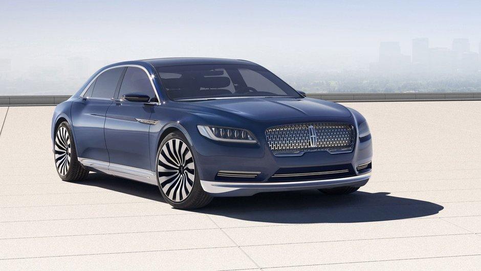 Lincoln Continental Concept : la future berline de 2016 en filigrane
