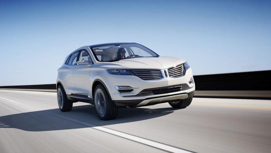 """Salon de Détroit 2013 : Lincoln MKC Concept, futur """"petit"""" crossover"""