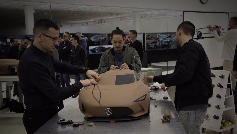 Une fuite de la future hypercar Mercedes-AMG grâce à Linkin Park ?