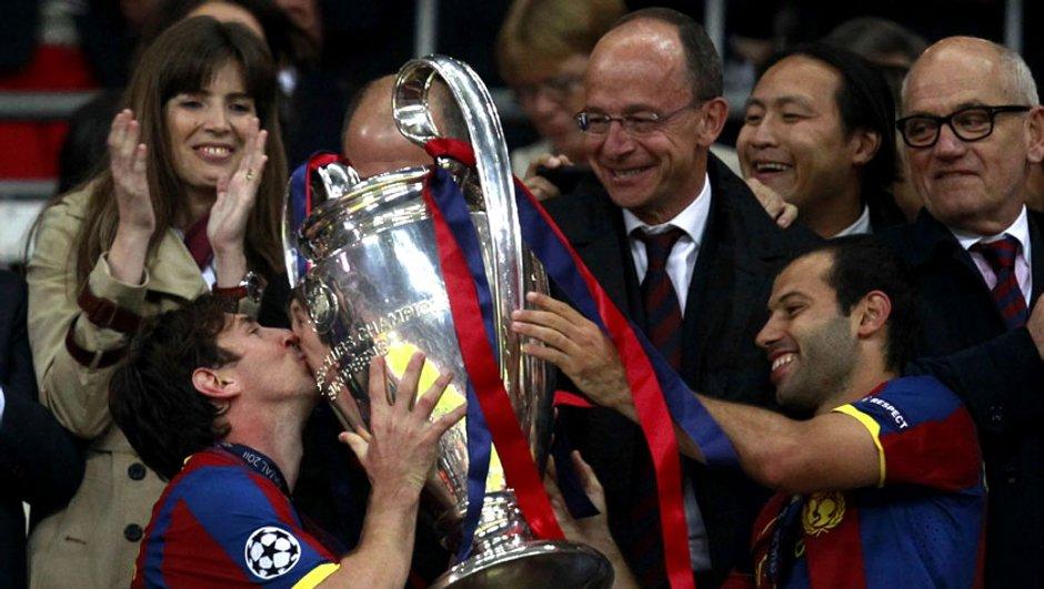 FC Barcelone : c'est le grand amour entre Mascherano et Messi