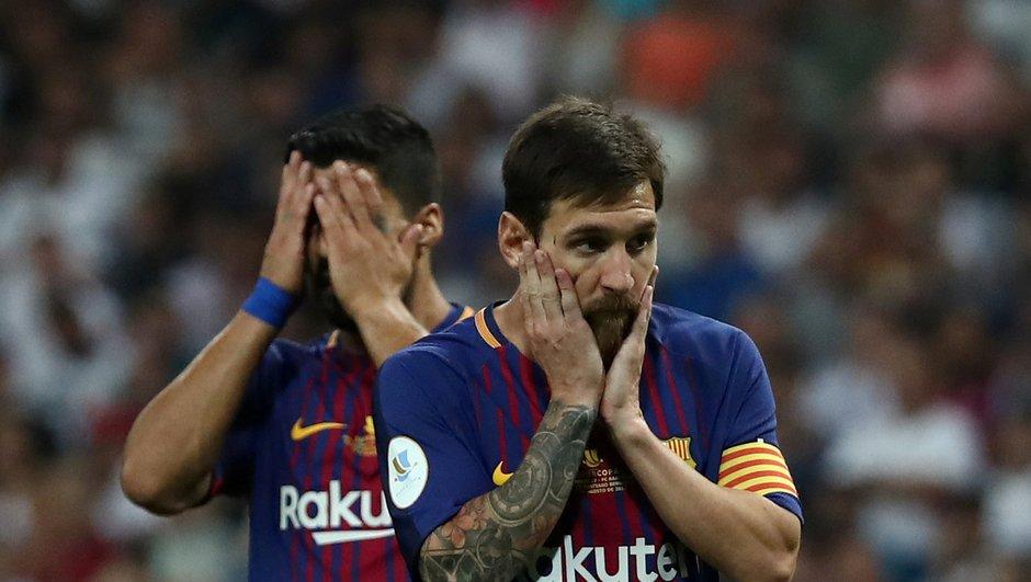 Supercoupe d'Espagne : Qu'arrive t-il au FC Barcelone ?