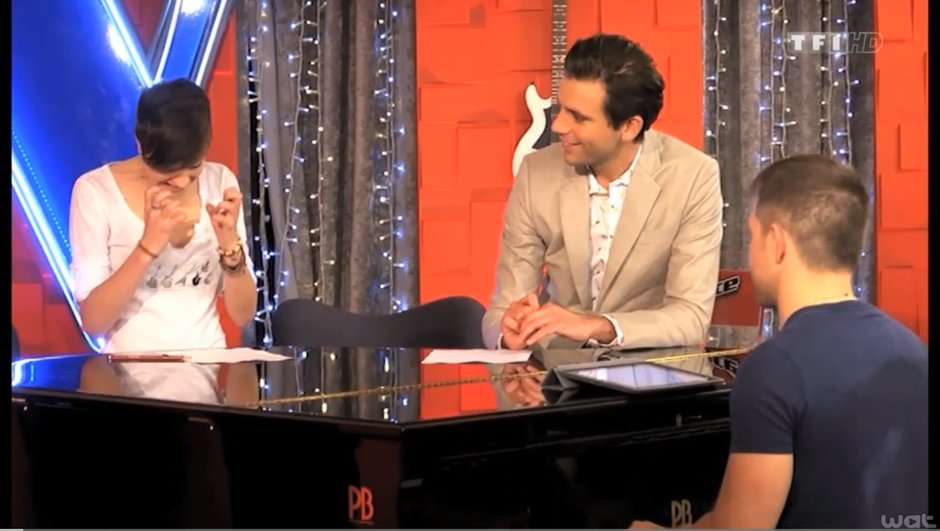 "The Voice 3 - Elodie : Plongez au coeur de son coaching par Mika sur ""Stay"" de Rihanna"