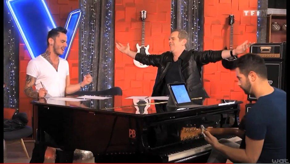 """The Voice 3 - Exclusivité : Maximilien chantera """"Comme d'habitude"""" en finale !"""