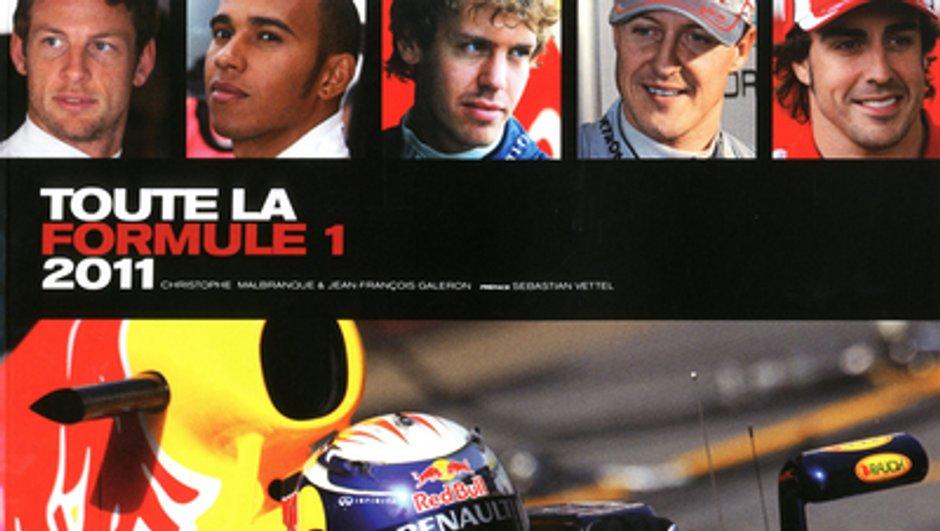 Idée Cadeau N°19 : le livre Toute la Formule 1 2011