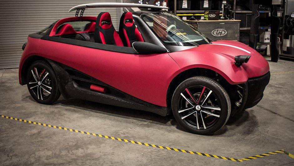 Local Motors lancera la première voiture imprimée en 3D dès 2016