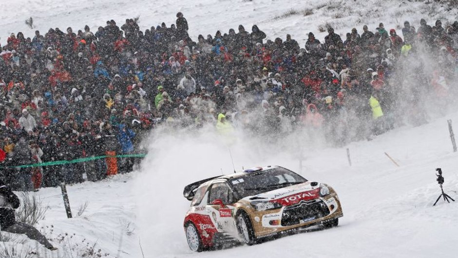 WRC - Monte-Carlo 2013 : Loeb en remet une couche