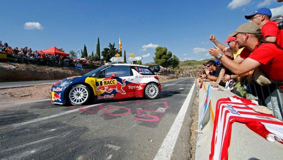 WRC Rallye d'Espagne - Jour 3 : Loeb à 1 spéciale du bonheur