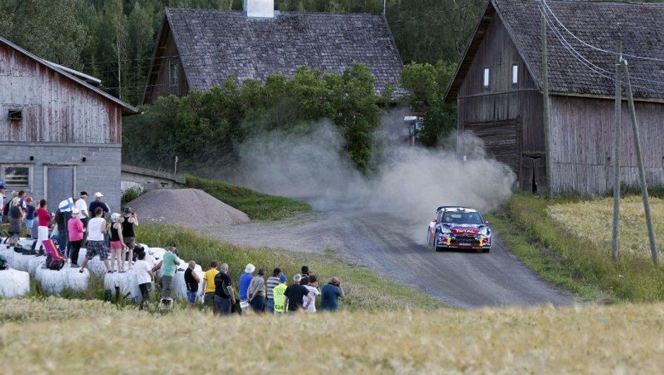 WRC - Rallye de Finlande 2012 : Loeb contient son avance