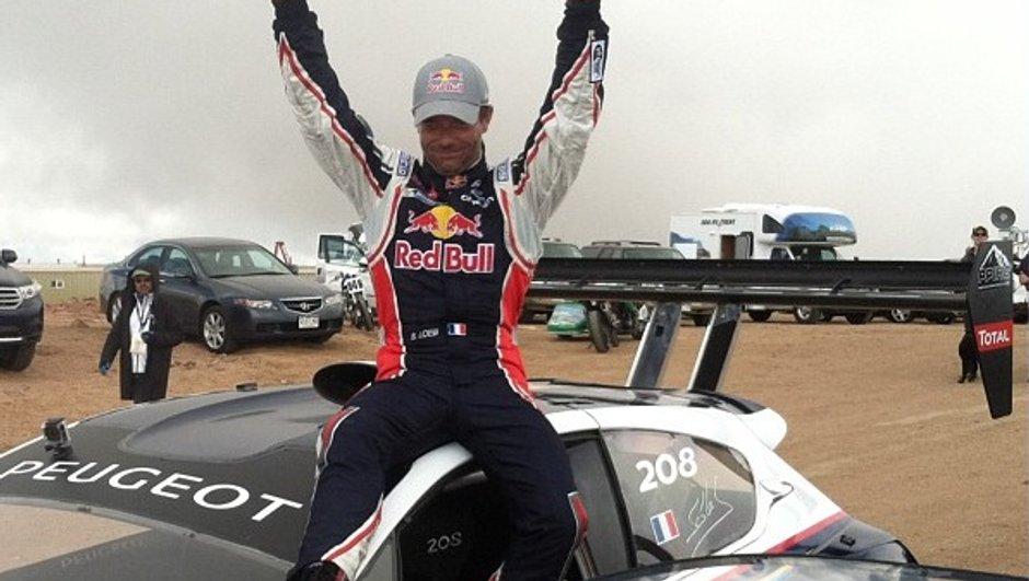 """Pikes Peak 2013 - Sébastien Loeb : """"J'ai quand même attaqué fort !"""""""