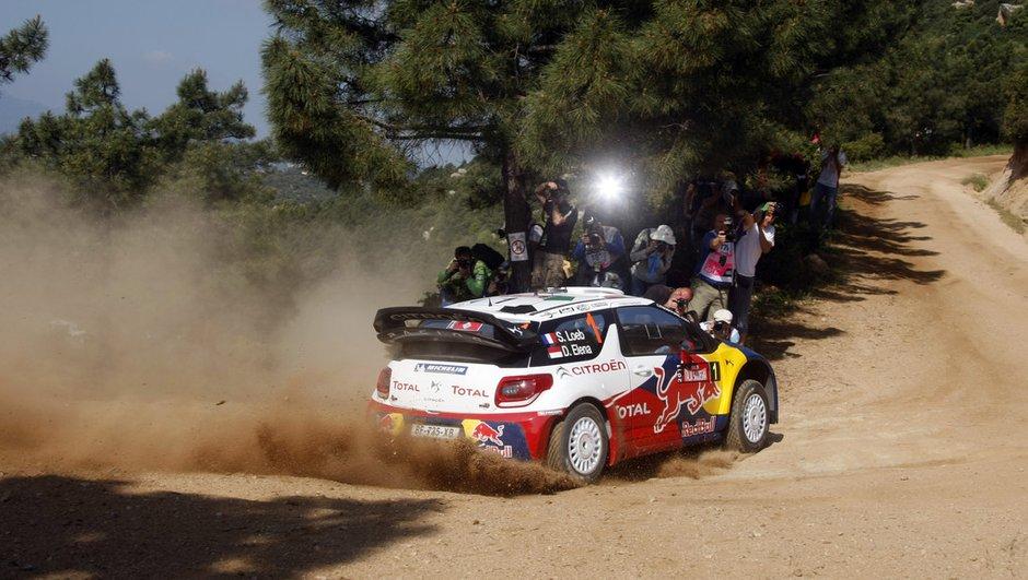 WRC : Loeb maître de Sardaigne et du rallye mondial