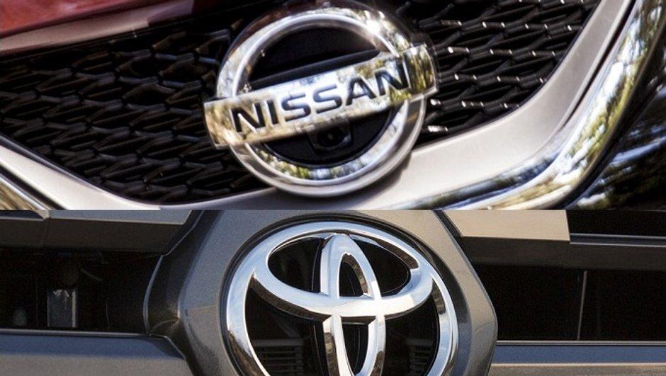 Toyota et Nissan rappellent 6,6 millions de voitures dans le monde