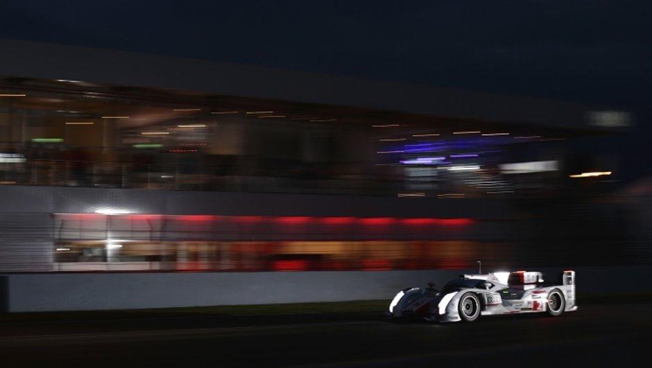 24 h du Mans 2013: le Français Loïc Duval leader au petit matin