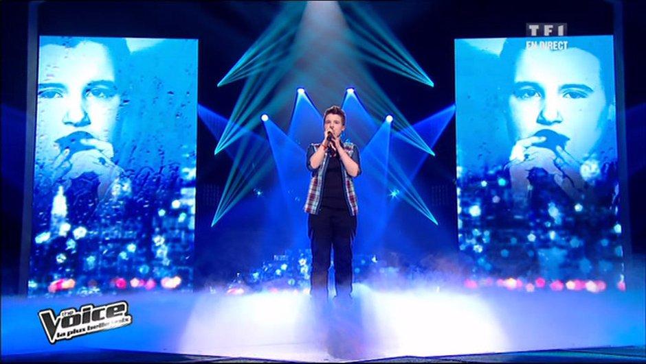 The Voice : le public sauve Loïs après une belle reprise de Bruel