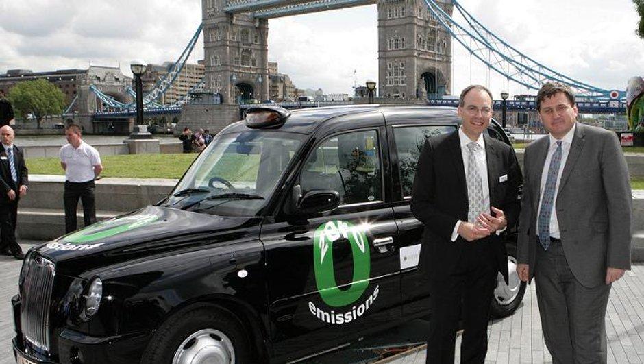 Les taxis de Londres passeront à l'hydrogène en 2012 !
