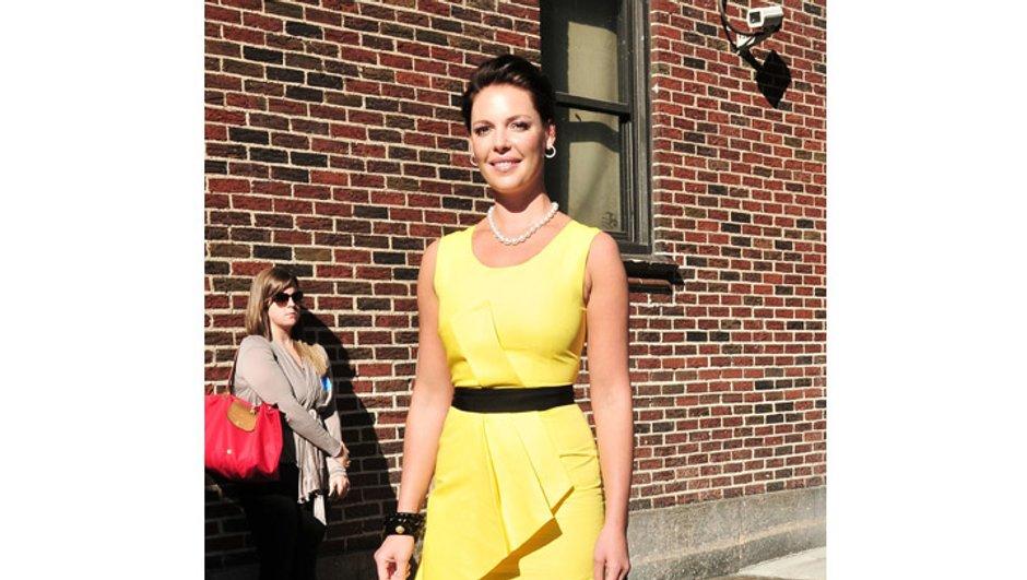 Look du jour : Katherine Heigl en mode Jackie Kennedy