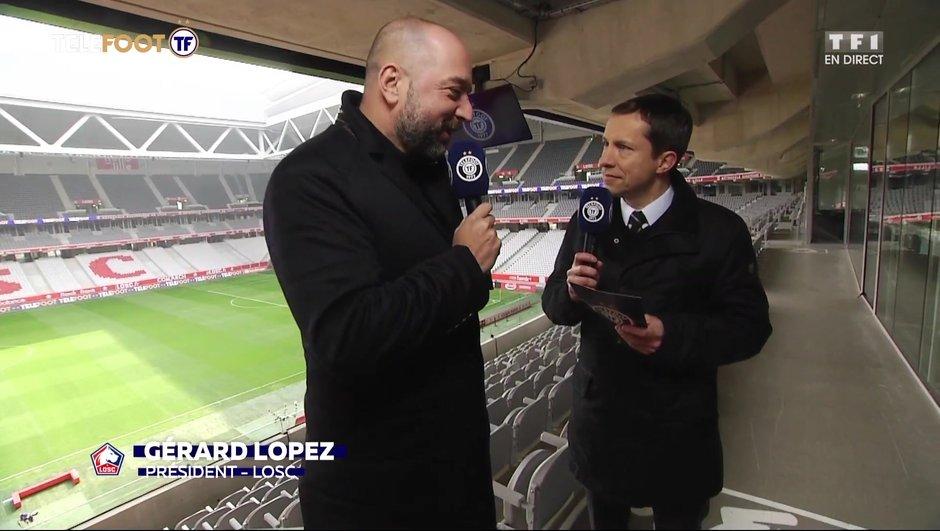 """[EXCLU Téléfoot 14/04] - Lopez sur la saison du LOSC : """"La Ligue des champions ? Ce n'est pas encore fait"""""""