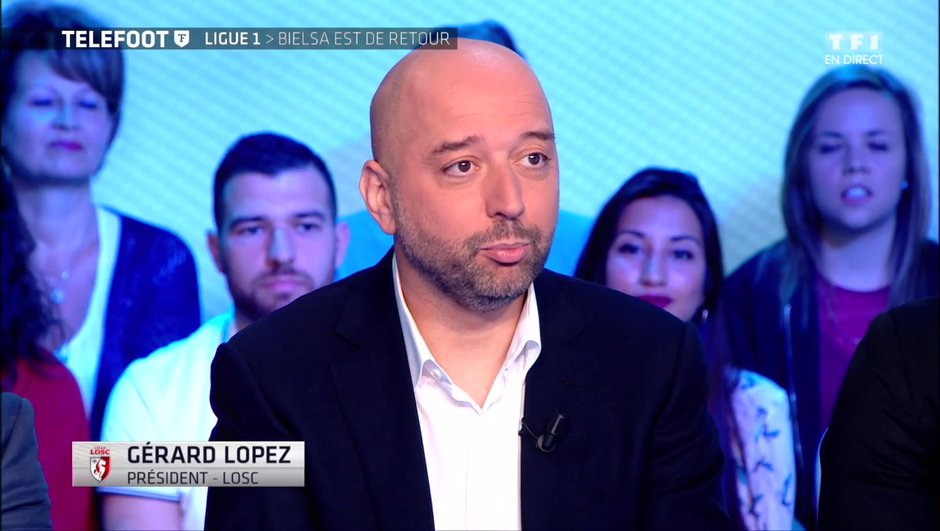 """[Exclu Téléfoot 25/06] - Gerard Lopez : """"Il y a une vraie cohésion dans le projet du LOSC"""""""