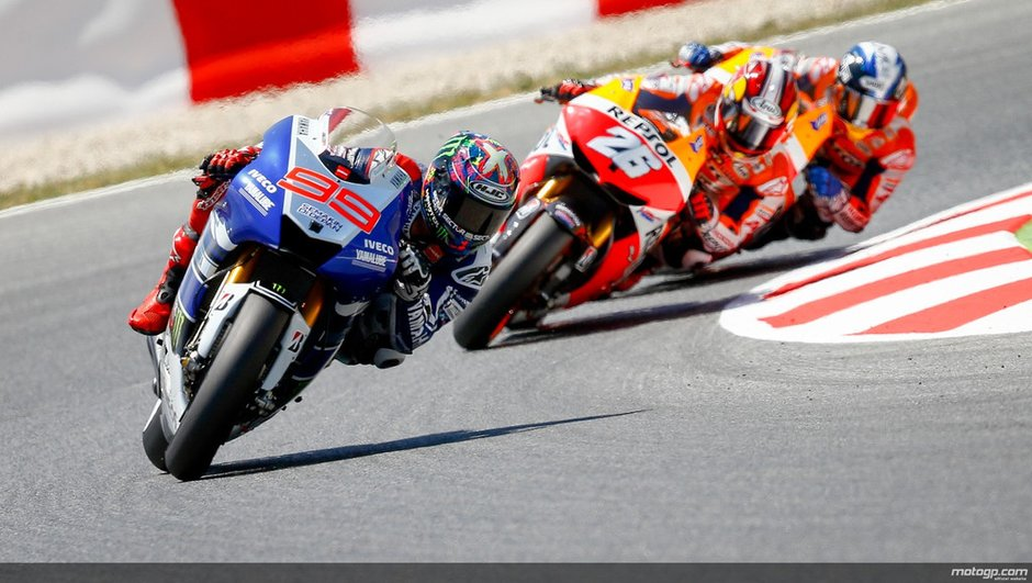 MotoGP - GP de Catalunya : Lorenzo se rapproche de Pedrosa